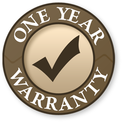 defianz one year warranty badge